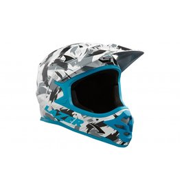 Lazer Phoenix+ Helmet, Black/Grey/Blue, Large
