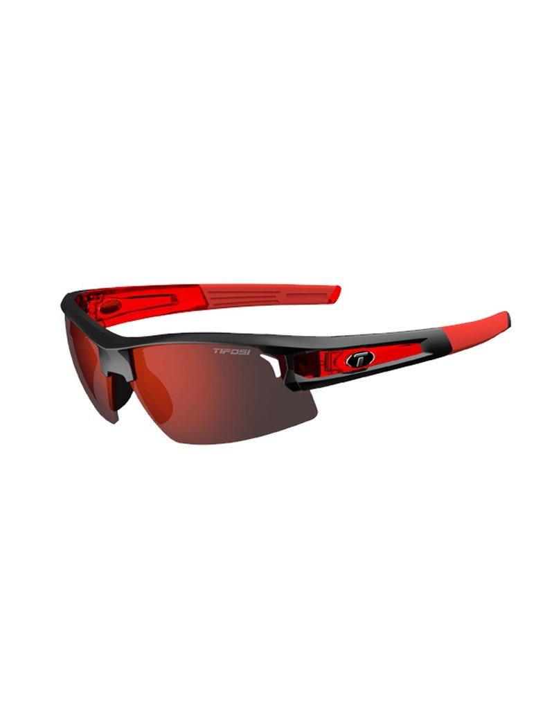 Tifosi Tifosi Synapse Interchangeable Clarion Lens Sunglasses RACE RED/CLARION RED size