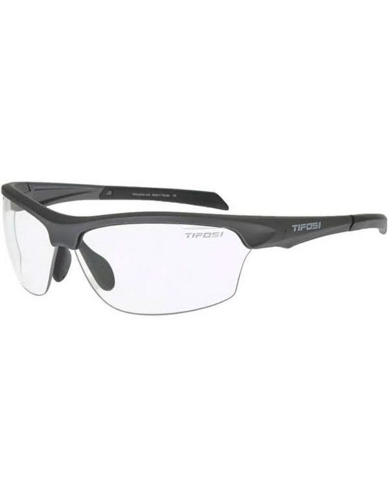 Tifosi Intense Single Lens Sunglasses MATT GUNAL/CLEAR size