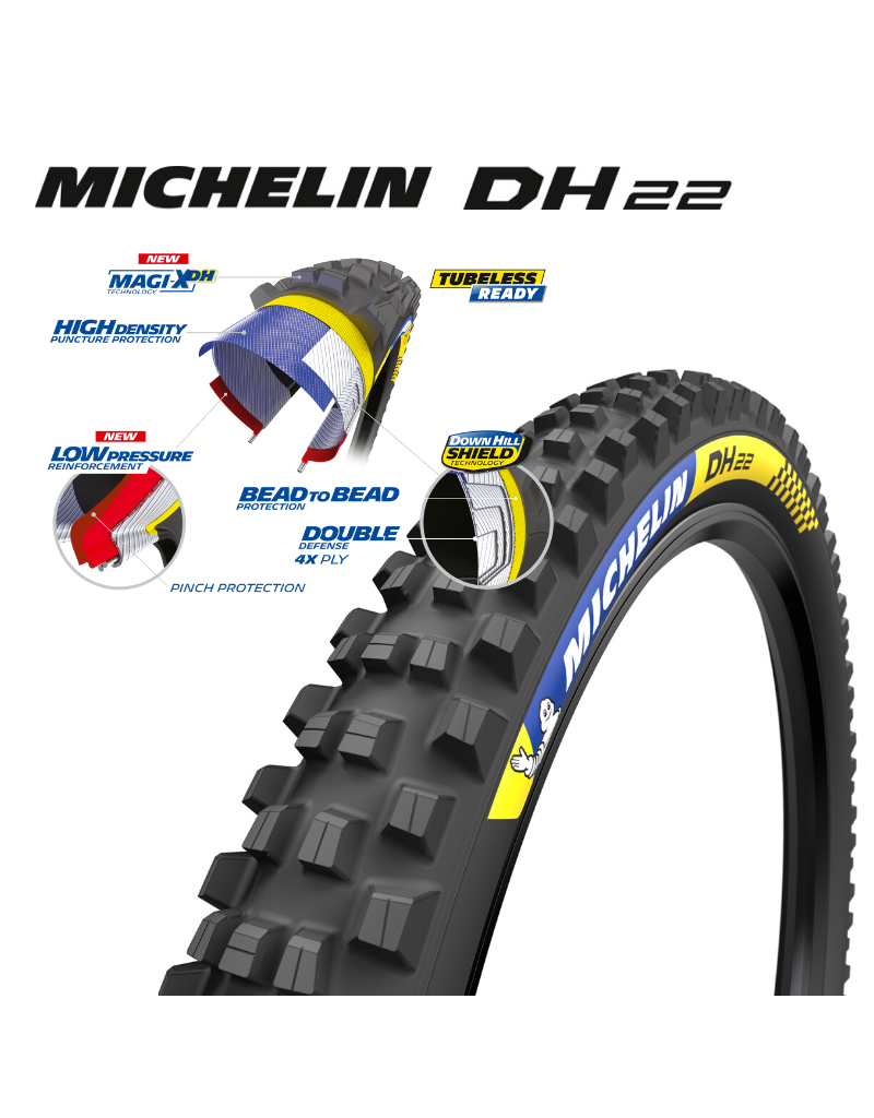 Michelin TYRE DH MUD 29x2.40 TLR