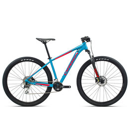 Orbea MX 29 50 L Blue Bondi- Bright Red (Gloss)