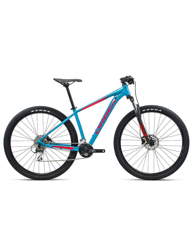 Orbea MX 29 50 L Blue Bondi- Bright Red (Gloss)