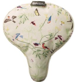 Basil WANDERLUST-SADDLE COVER SADDLE COVER WATER-REPELLENT MATERIAL IVORY: IVORY