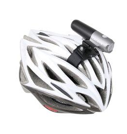 Cateye Flextight helmet mount bracket and velco strap