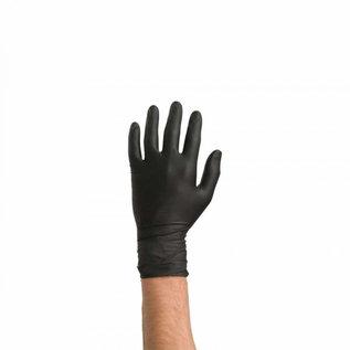 Colad Disposabel Nitril Handschoenen Zwart 60 stuks
