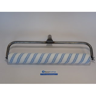 BaronCoatings dubbele beugelvoor  50 cm blauw draad