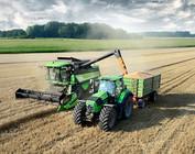 Landbouw machine verf