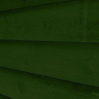 BaronCoatings BaroAqua houtbeits dennengroen circa Ral 6009