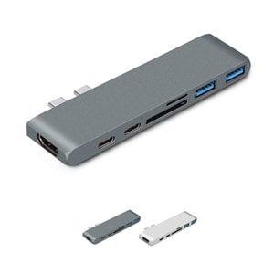 USB-C Hub 7-in-1 voor MacBook
