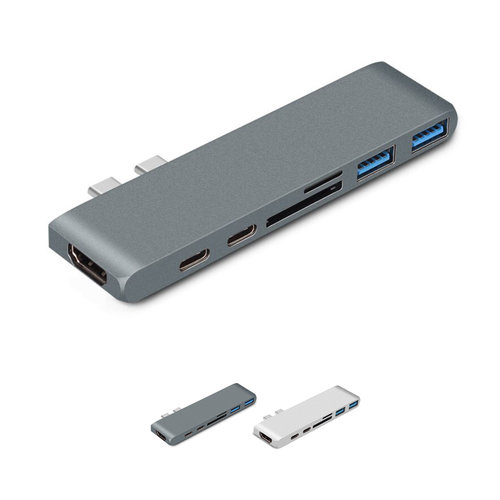 USB-C Hub 7-in-1 voor MacBook Pro & MacBook Air