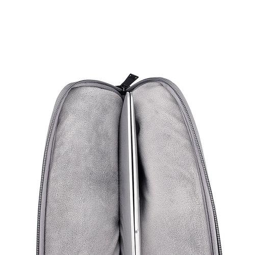Laptophoes met afneembare schouderband
