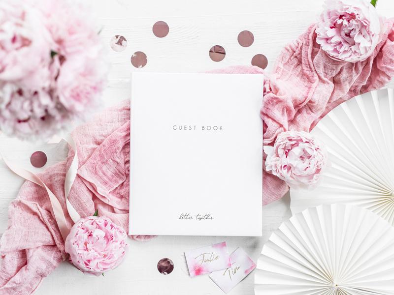 Bruiloft gastenboeken