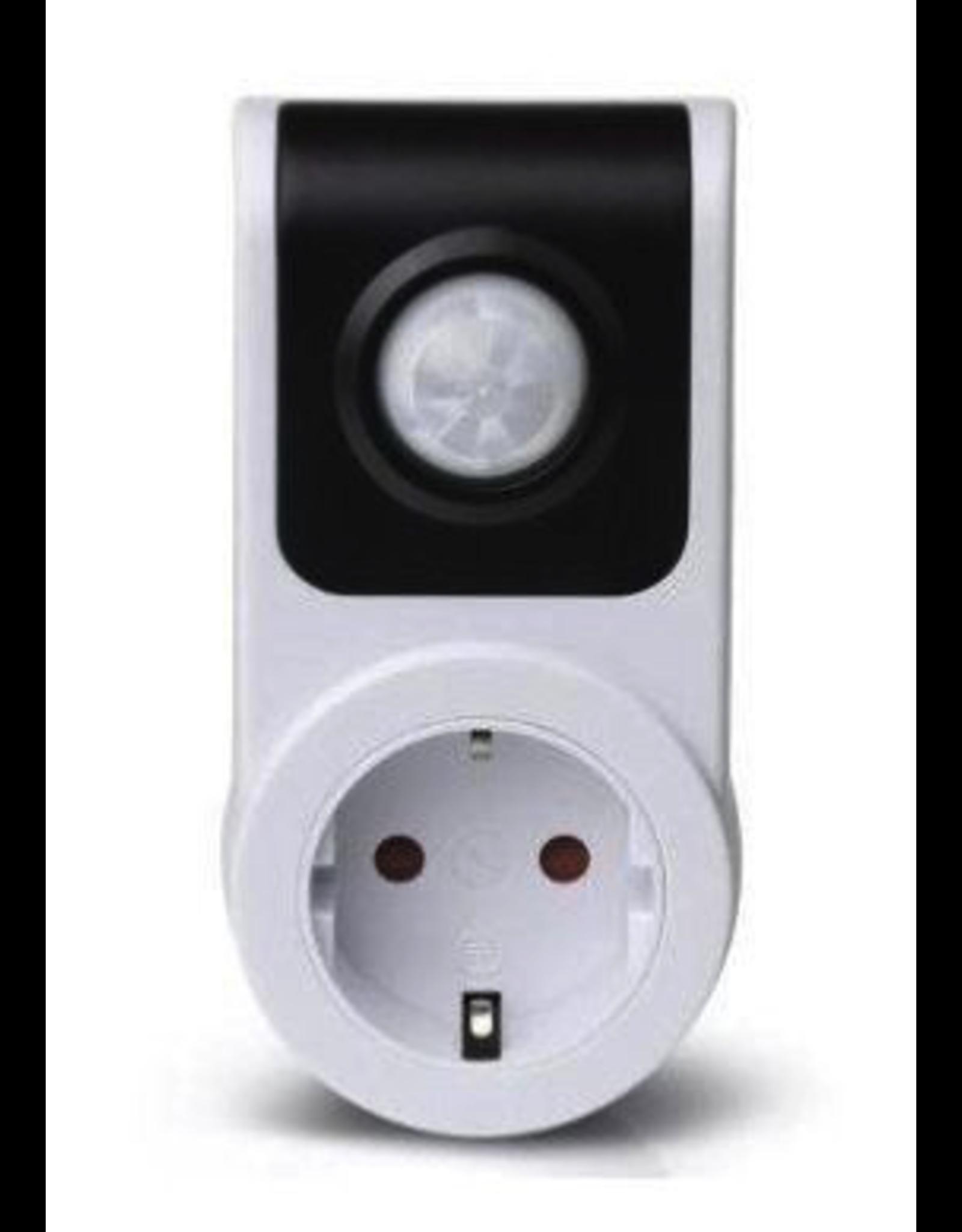 Doorvoerstekker met sensor