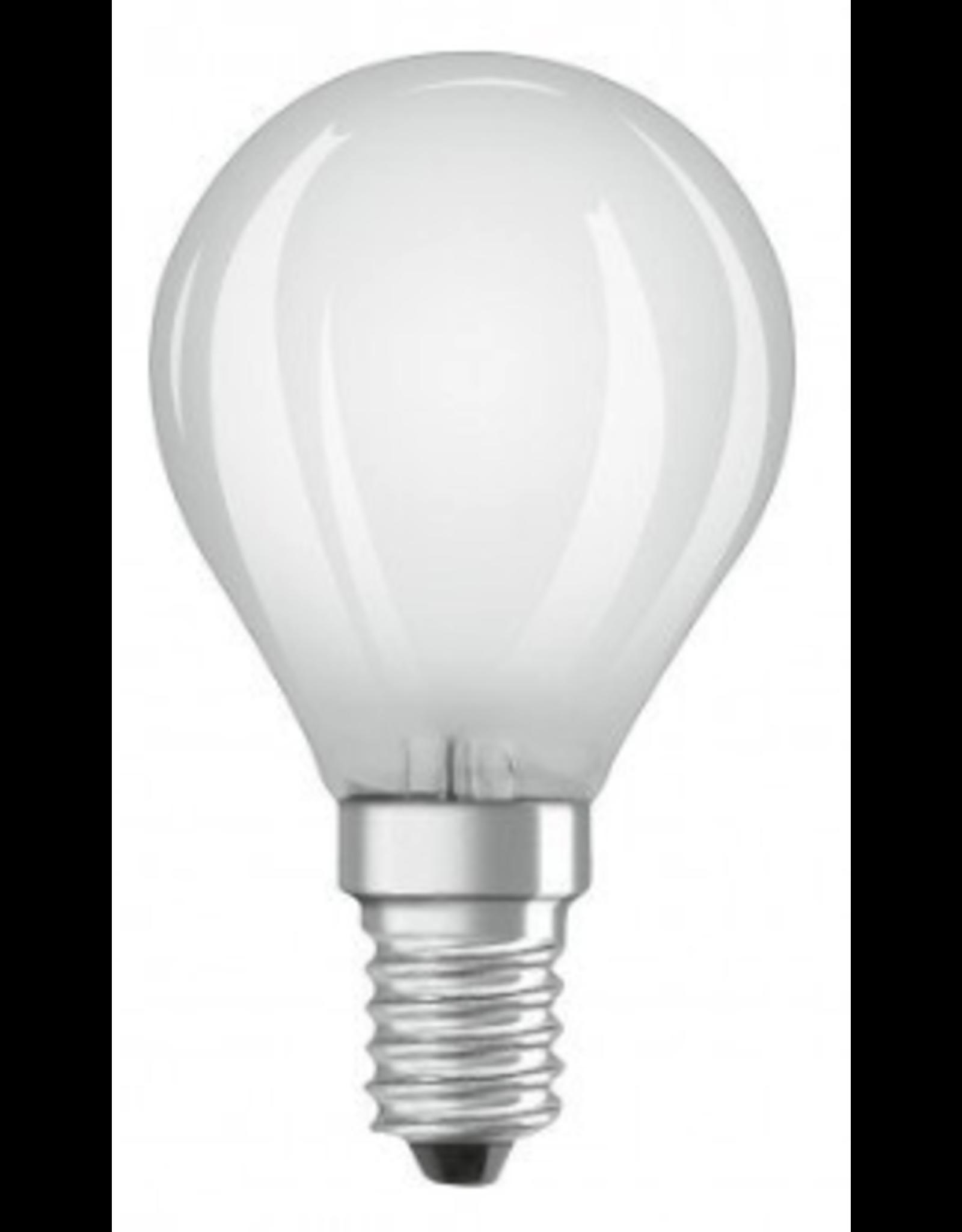 Led Bolvorm - kleine fitting - niet dimbaar - warm wit - 40 -> 4,5 watt