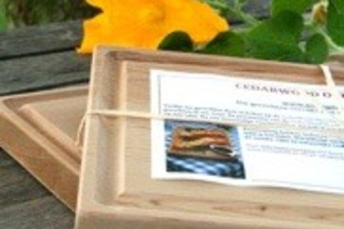 Cederhouten ovenplank Medium