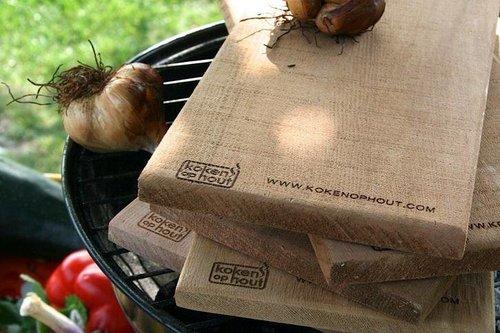 Cederhouten BBQ-plank middel