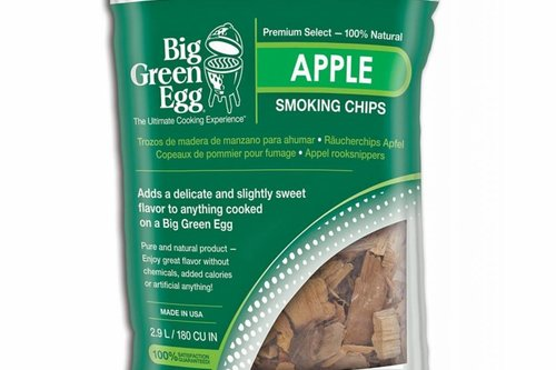 Big Green Egg Rookhout snippers appel