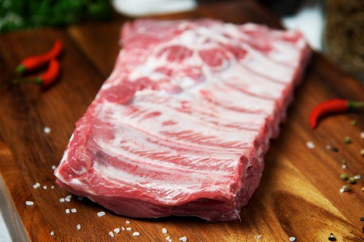 Hollands varken Spare ribs - dik bevleesd