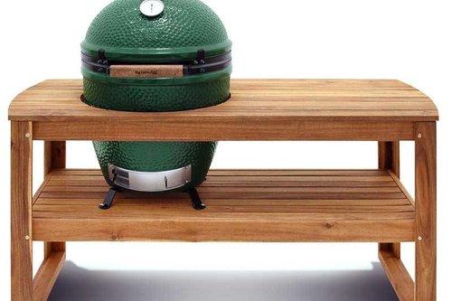 Big Green Egg Large met Acacia houten werktafel - KIES UW VOORDEEL VAN MAX. € 175,-*