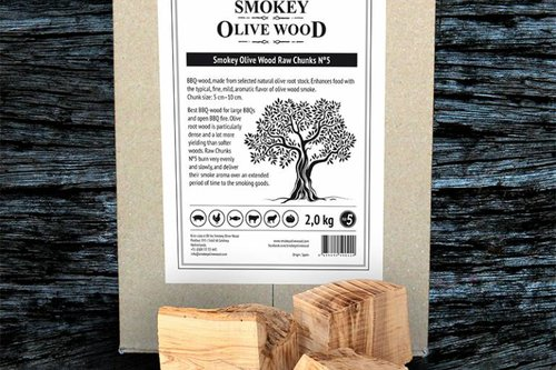 Smokey Olive Wood Olive Wood Raw Chunks Nº5