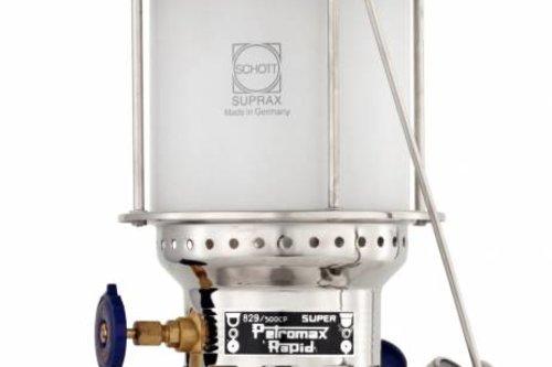 Petromax 500 HK lamp petroleum chroom