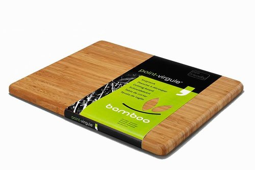 Point - Virgule Bamboo Snijplank L, 34x29x1.8cm