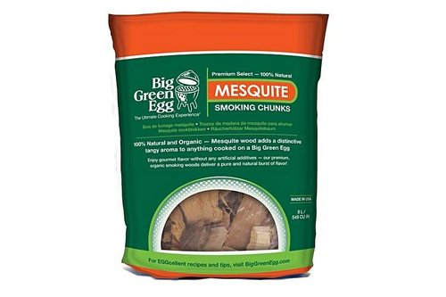 Big Green Egg Mesquite wood chunks