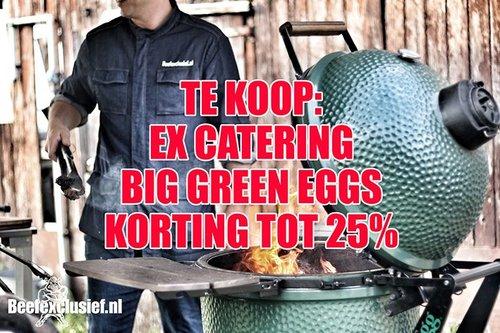 Big Green Egg Big Green Egg gebruikt - ex catering tot 25% korting
