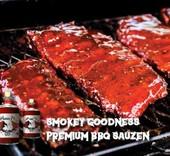 Smokey Goodness BOLD & BEEFY BBQ SAUS