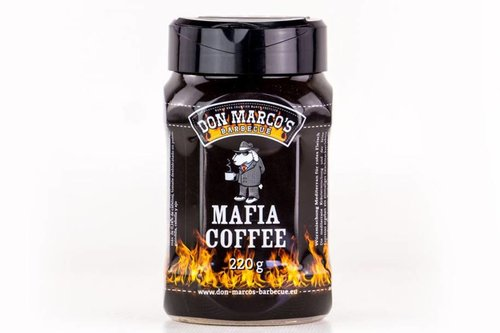 Don Marco's Barbecue Mafia Coffee rub