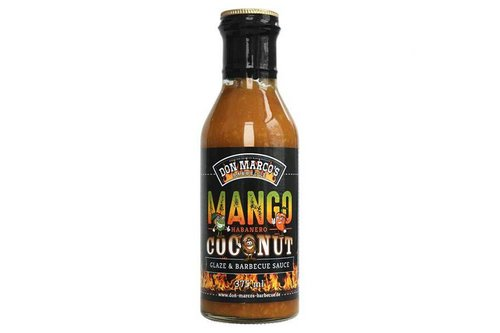 Don Marco's Barbecue Mango / Habanero / Coconut glaze & saus