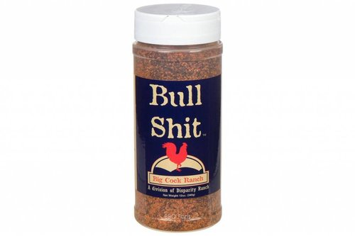 Big Cock Ranch Bull Shit steak rub