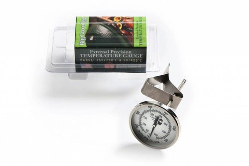 Big Green Egg Tel-Tru dome thermometer 8 cm display