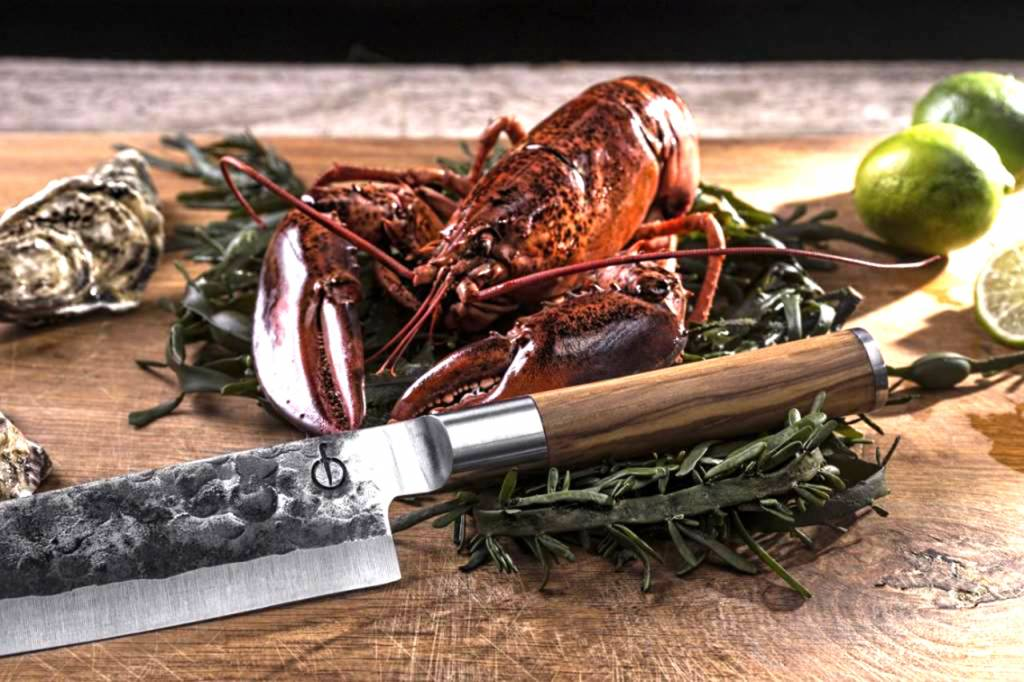 Olive Forged hakmes of hakbijl 17 cm