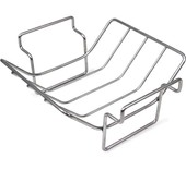 Big Green Egg RVS V-Rack of rib rack - Small/Medium
