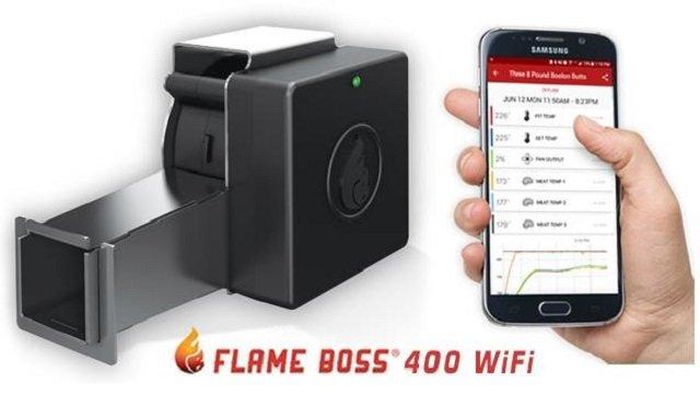 Flame Boss 400 wifi smoker controller