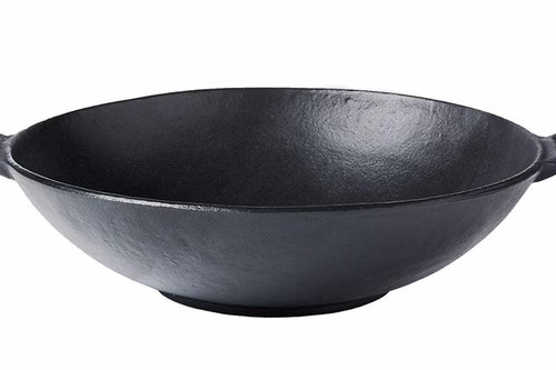 Kamado Joe Barbecue Gietijzeren wok