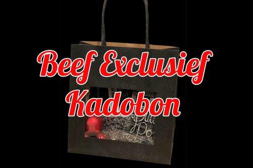 Kerst Kadobon - Beef Exclusief