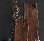 Stuff Design Serveerplank 'Raw' acacia hout 25 x 60 cm