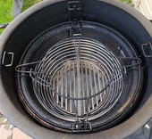 Kamado Joe Barbecue RVS Basket of houtskoolmand met scheiding