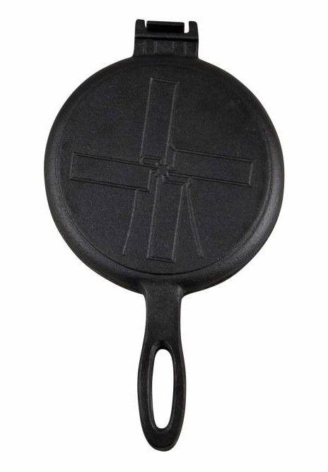 The Windmill - genuine dutch cast iron gietijzeren wafel ijzer