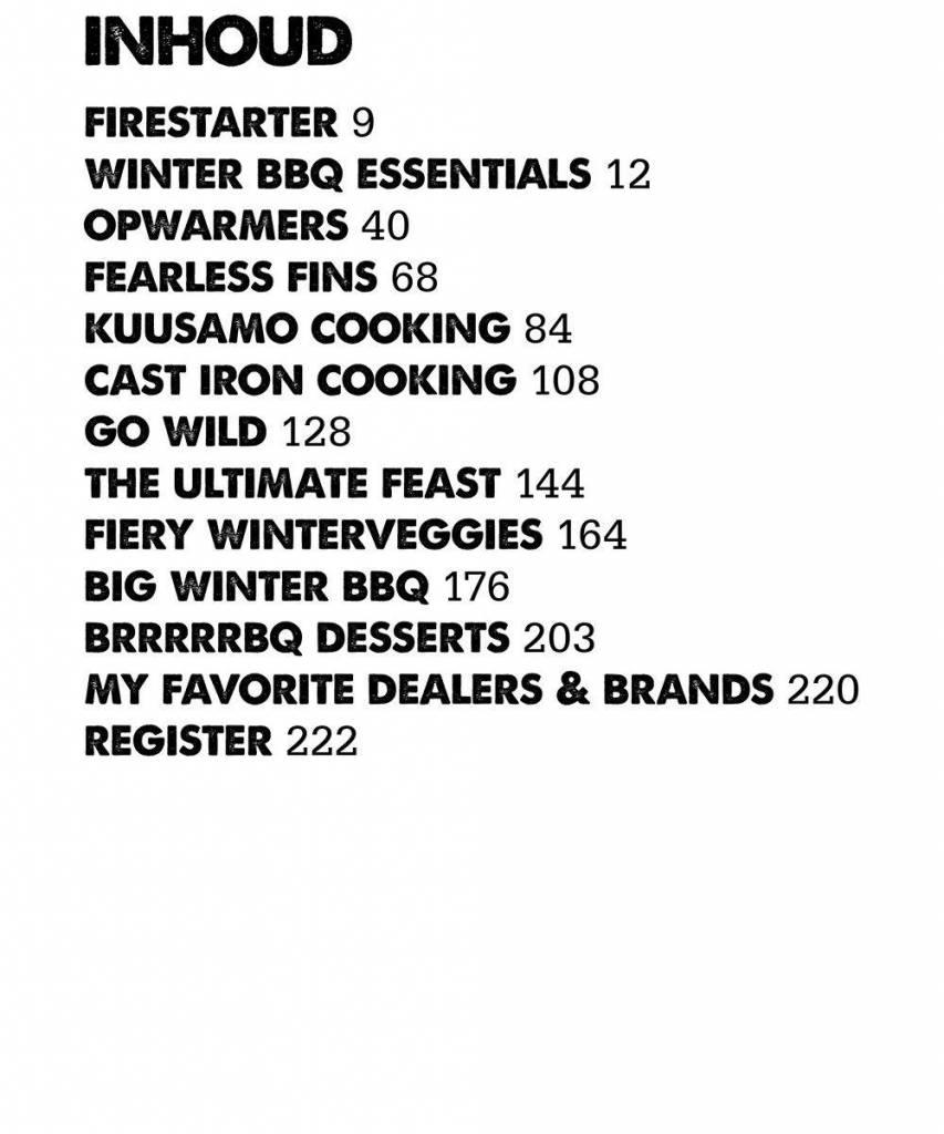 Smokey Goodness 4 - Winter BBQ boek