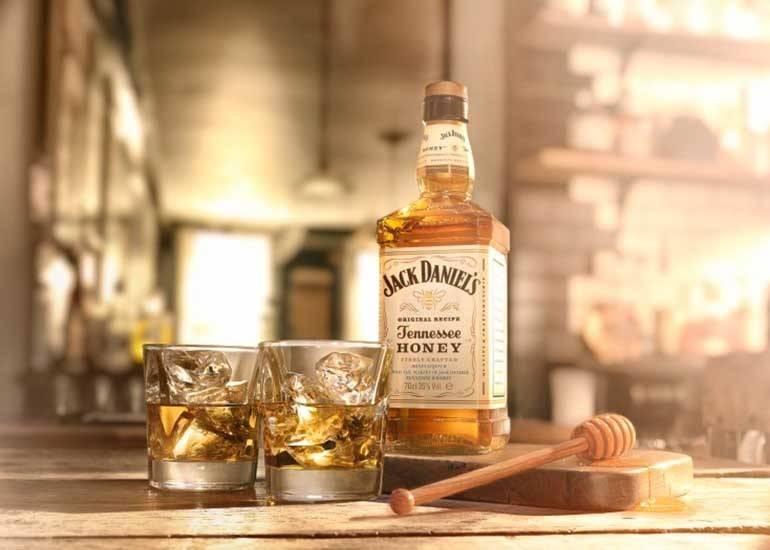 Jack Daniels Whiskey pakketten