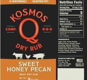 Kosmo's Q Sweet Honey Pecan Rub