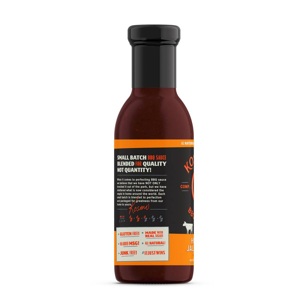 Kosmo's Q Honey Jalapeno BBQ Sauce