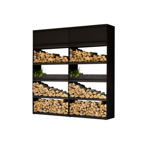 "OFYR OFYR Wood Storage ""Black"" 200"