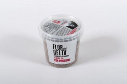 Flor del Delta Pimientas zeezout en pepers 400 gram