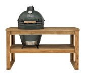 Big Green Egg Big Green Egg Large in Acacia tafel met cover