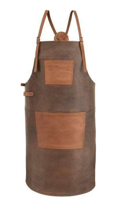 Petromax Lederen schort of apron in bruin/cognac