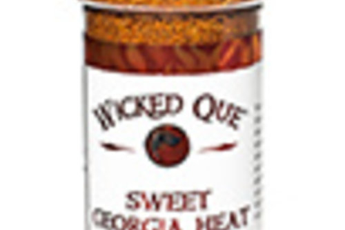Wicked Que Sweet Georgia Heat rub